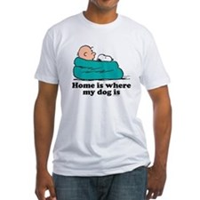 Charlie Brown: Home is Where My Dog Fitted T-Shirt