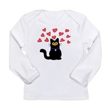 Love Cat Long Sleeve T-Shirt