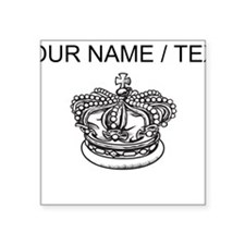 Custom Crown Sticker