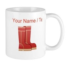 Custom Rain Boots Mugs