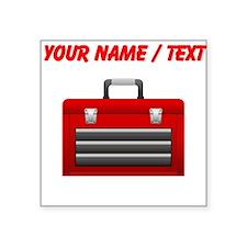 Custom Red Toolbox Sticker