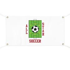 All Star Soccer Banner