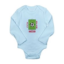 All Star Soccer Body Suit