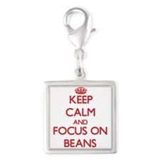 Keep Calm and focus on Beans Charms