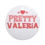 Valeria Ornament (Round)