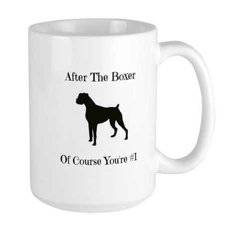 After The Boxer Mugs