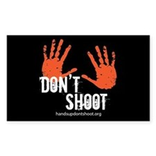 Hands Up Don't Shoot, Inc. Logo Decal