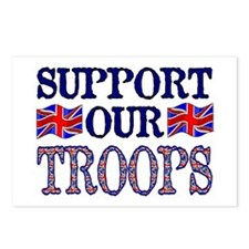 ...Support Our Troops U.K... Postcards (Package of