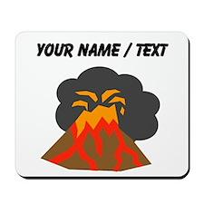 Custom Erupting Volcano Mousepad