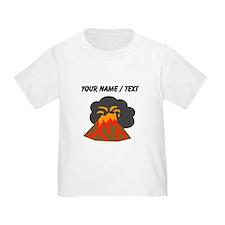 Custom Erupting Volcano T-Shirt