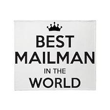 Unique Mailman Throw Blanket
