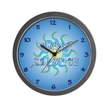 Winter Solstice Wall Clock