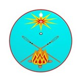MUSCOGEE CREEK NATION Ornament (Round)
