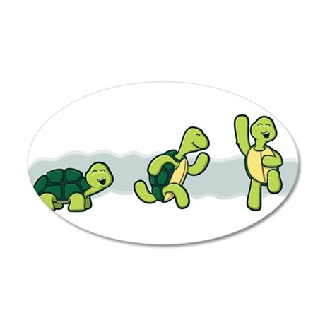 Trio of Turtles-2 Wall Decal