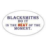 Blacksmiths Do It - Decal