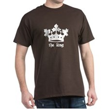Medieval King Black Crown T-Shirt