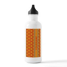 Floral Pattern Persona Water Bottle