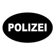 polizei Decal