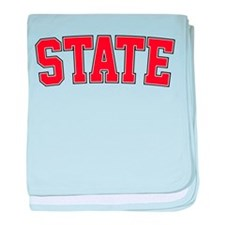 State - Jersey baby blanket