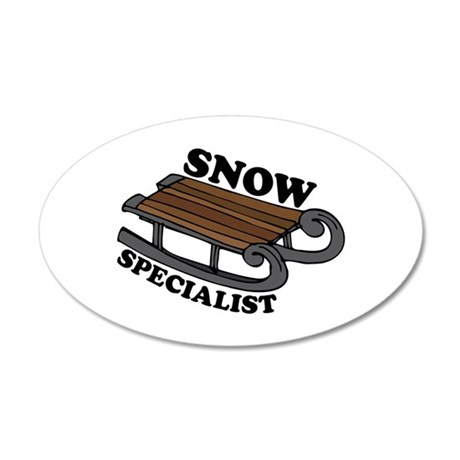 Snow Specialist Wall Decal
