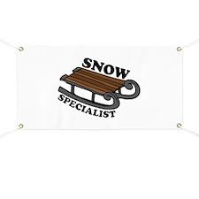 Snow Specialist Banner