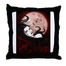 Blood Countess Throw Pillow