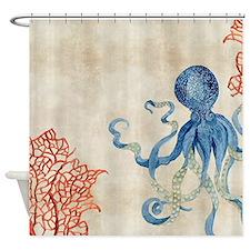 Cute Reef fish Shower Curtain