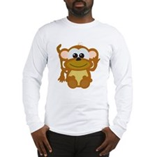 Cute Little Goofkins Monkey Long Sleeve T-Shirt