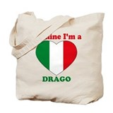 Drago, Valentine's Day Tote Bag