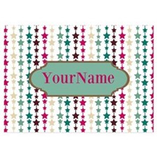 Stars Pattern Personalized Invitations