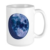 Celtic Knotwork Blue Moon Mug