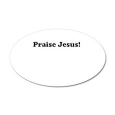 Praise Jesus Wall Decal