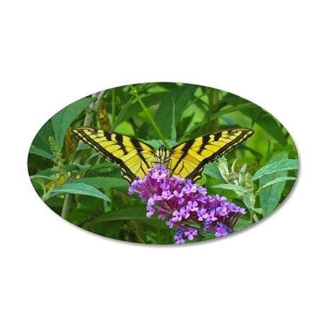 Swallowtail Butterfly Wall Decal