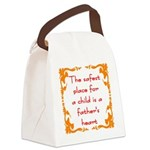 Child safety Canvas Lunch Bag