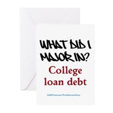 College major Greeting Cards