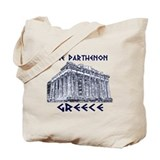 Parthenon Athens Tote Bag