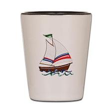 Cute Boat Shot Glass