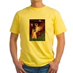 Angel (#1) & Schipperke Yellow T-Shirt