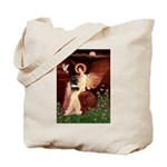Angel (#1) & Schipperke Tote Bag