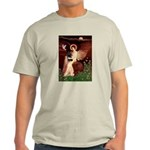 Angel (#1) & Schipperke Light T-Shirt