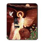 Angel (#1) & Schipperke Mousepad