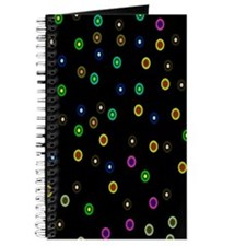 Cute Retro dots Journal
