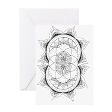 Double Rising Greeting Card
