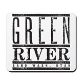 River Running Mousepad