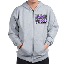 Lupus HowStrongWeAre Zip Hoodie