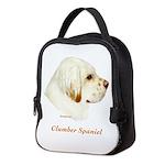 Clumber Spaniel Neoprene Lunch Bag