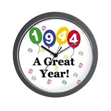1944 A Great Year Wall Clock