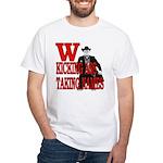 Sheriff W George Bush Cowboy White T-Shirt