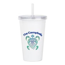 Campbell Turtle Acrylic Double-Wall Tumbler