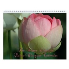 The 2015 Water Lily Wall Calendar